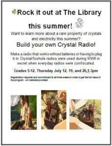 Rock Science: Build Your Own Crystal Radio
