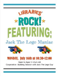 Jack The Lego Maniac